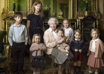 Isabel, reina y abuela en su 90 cumpleaños