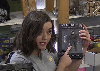 'Arya' toma el pelo a los fans de 'Juego de Tronos'
