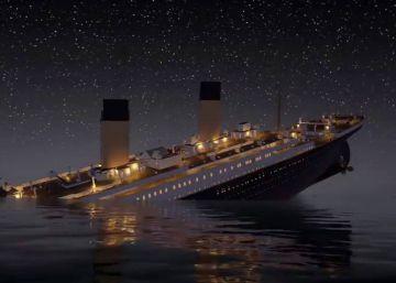 El hundimiento del Titanic en dos horas, 41 minutos y 18 segundos