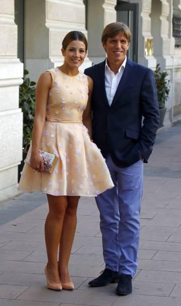 Manuel Díaz, con Virginia Troconis el pasado junio