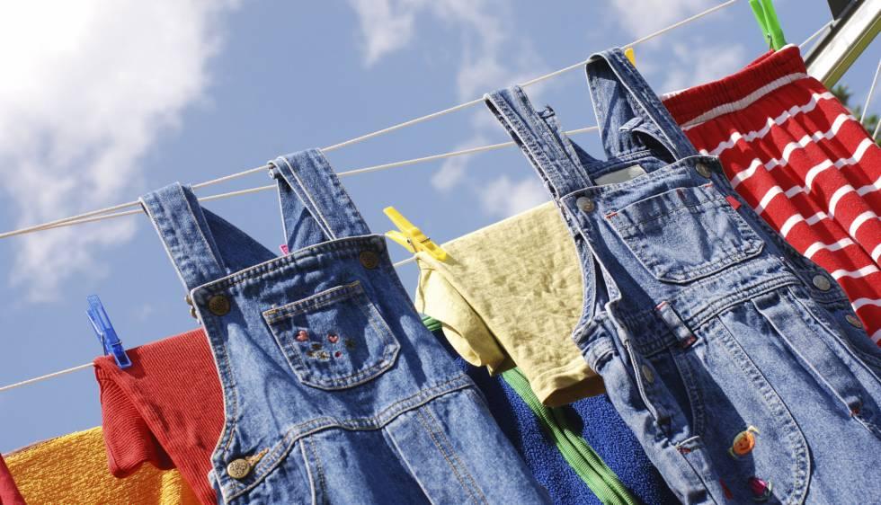 La ropa que se limpia con un rayo de luz