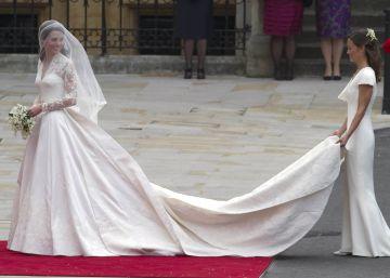 McQueen, acusado de copiar el traje de novia de Kate