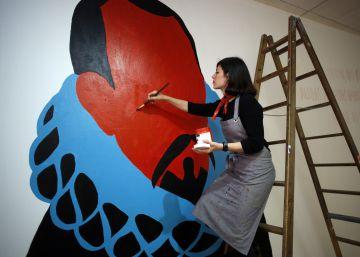 Cervantes en murales