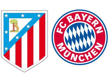 El Atlético - Bayern de Múnich en cifras