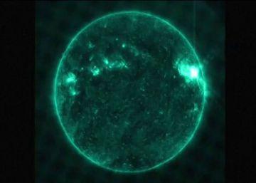La NASA capta una erupción solar en 4K