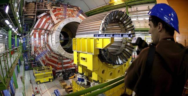 El Gran Colisionador de Hadrones.
