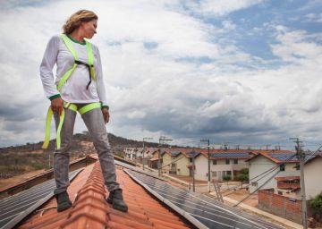 Energía solar para las favelas