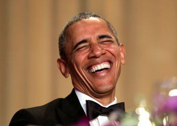 Obama, en la cena de corresponsales este sábado