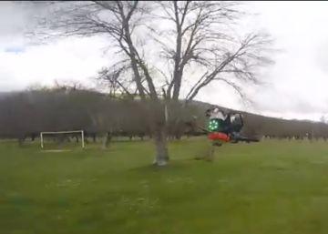 Así se ve en primera persona una carrera de drones