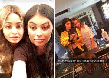 El 'face swap', la nueva moda entre los famosos