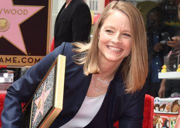 Jodie Foster ya tiene su estrella y brilla en el Paseo de la Fama