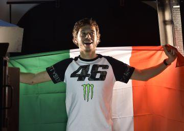 Las fotos de la mini serie sobre Valentino Rossi
