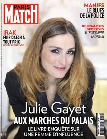 Julie Gayet: primera dama entre líneas