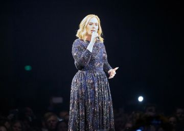 Adele, celestina de una pareja de fans