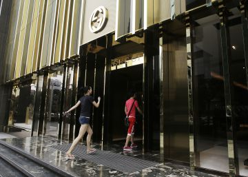 Gucci no confía en Alibaba