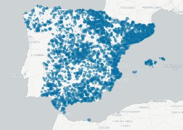 Deuda municipal por habitante en 2015