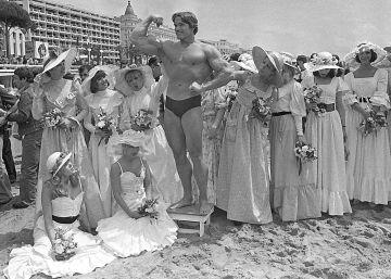 Cannes en blanco y negro