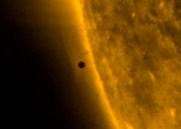 Así fue el tránsito de Mercurio por el Sol