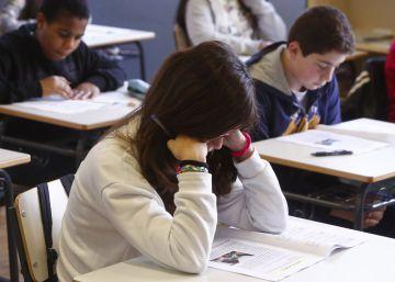 Exámenes de la 'reválida' de primaria