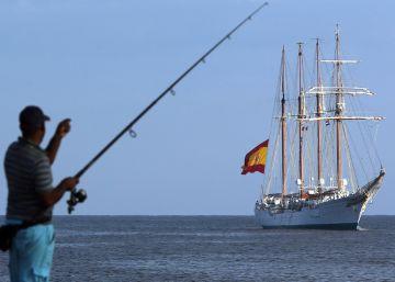 El Juan Sebastián Elcano llega a Cuba