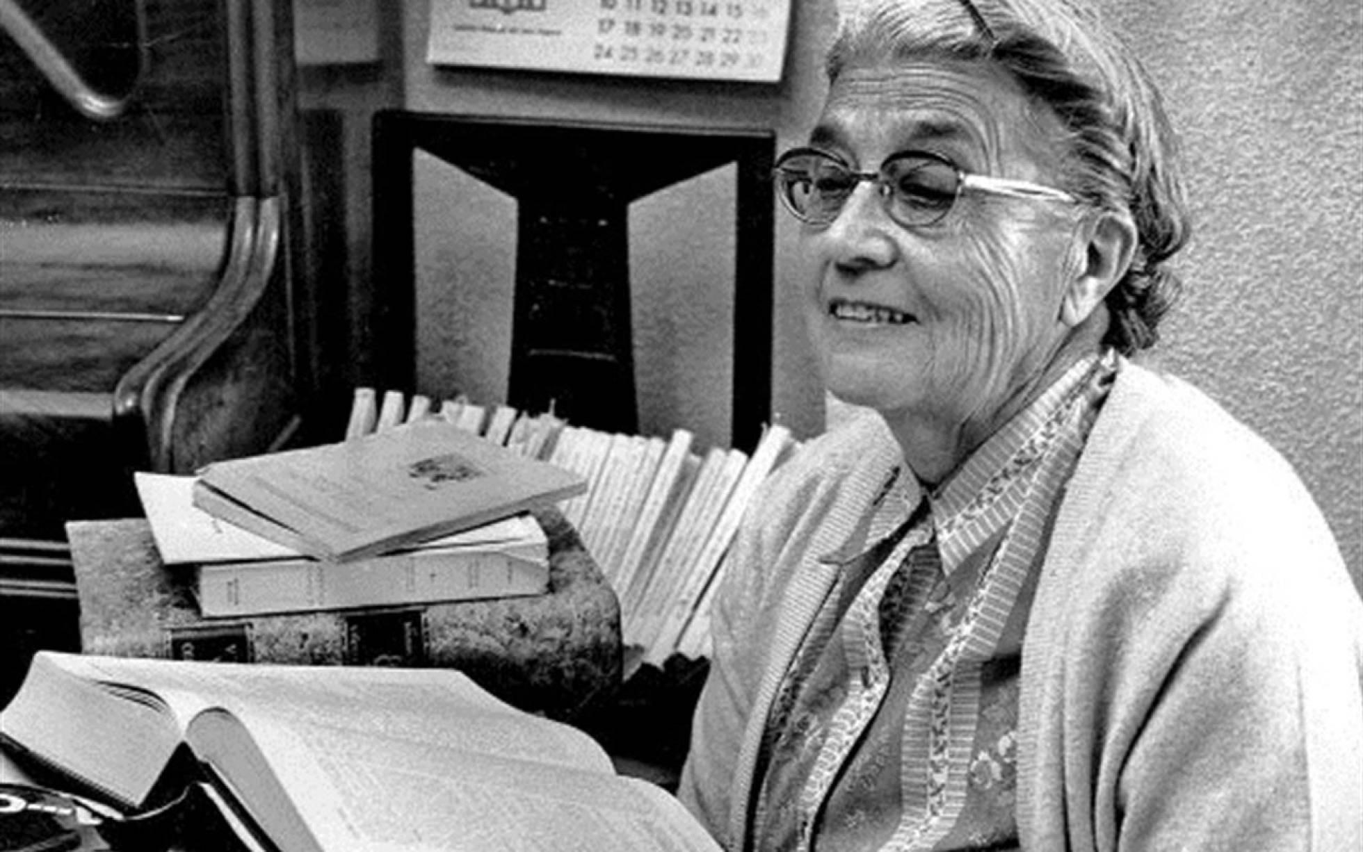 María Moliner, una de las primeras mujeres universitarias españolas.