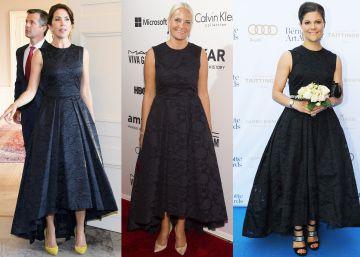 Un vestido de H&M para tres princesas