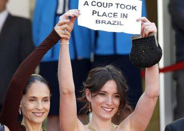 Protesta política del cine brasileño en Cannes