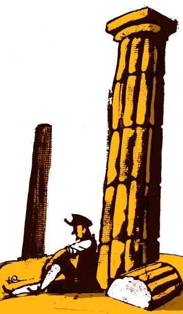 Las ruinas de Palmira
