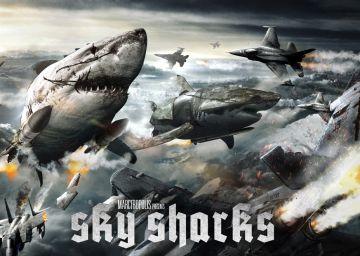 La película definitiva: tiburones voladores, zombis y nazis