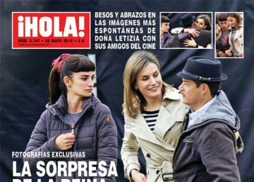 Doña Letizia se une al rodaje de Fernando Trueba