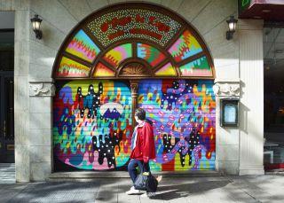 Lavapiés se transforma en una galería de arte al aire libre