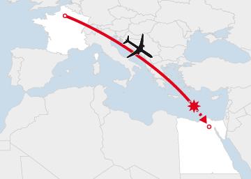 Desaparición del vuelo MS804 París- El Cairo