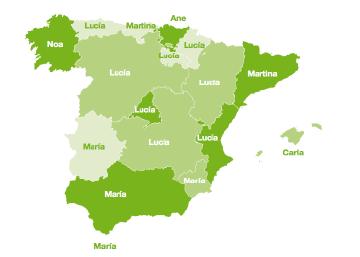 El mapa de los nombres