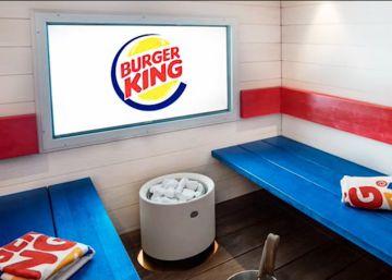 Nace el primer Burger King con sauna
