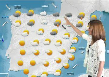 Sábado de calor, domingo de frío