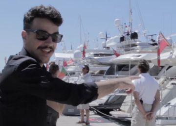Así es una fiesta playera de Cannes