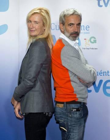 Ana Duato e Imanol Arias protagonizan la serie de TVE 'Cuéntame cómo pasó'.