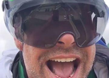 Ricky Martin se atreve con la tirolina más larga del mundo