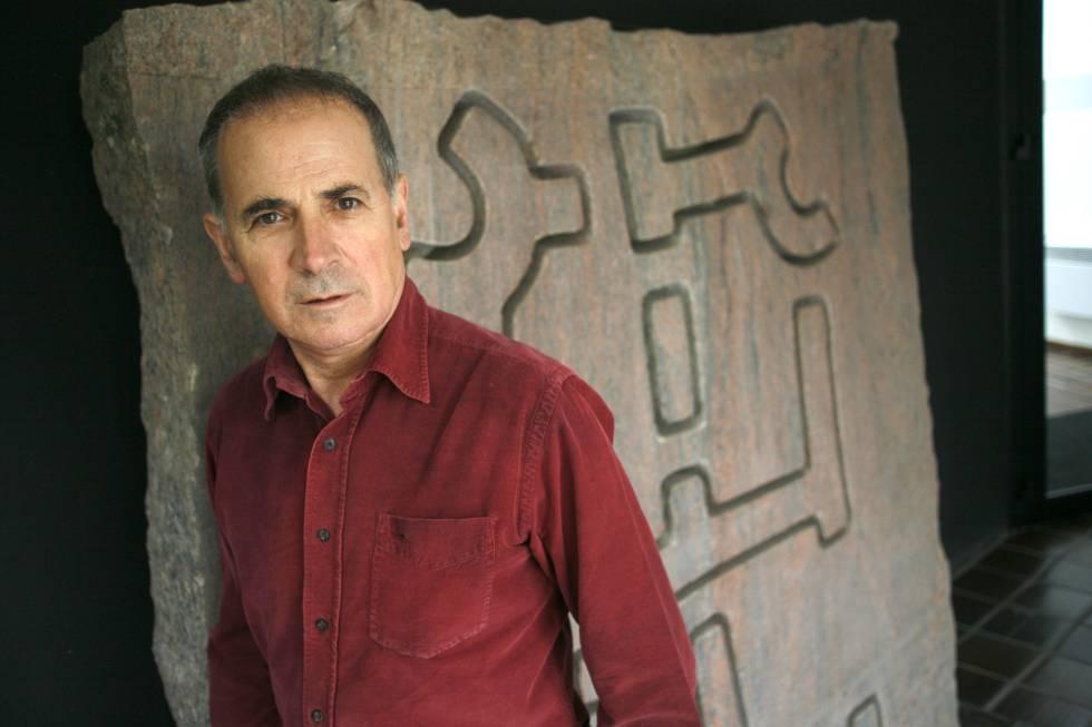 Víctor Gómez Pin en Chillida leku
