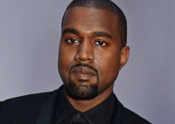 Kanye West y Kim Kardashian West, en la fiesta de los 100 años de 'Vogue'.