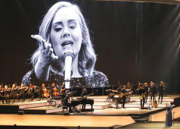 El concierto de Adele, en imágenes
