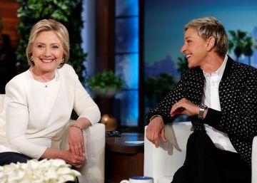 Hillary Clinton visita a Ellen DeGeneres