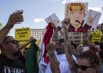 Las protestas contra Trump en Nuevo México se tornan violentas