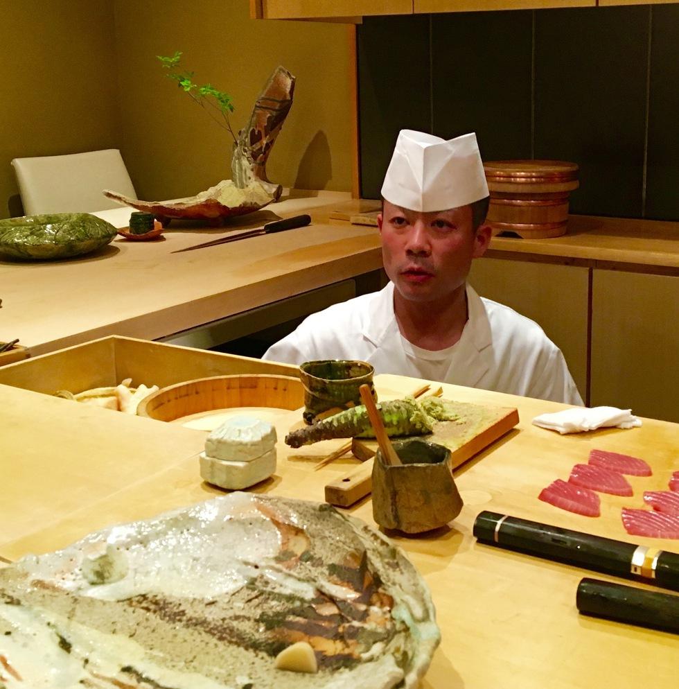 Ootanino ¿la mejor barra de sushi del mundo?