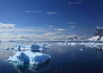 El calentamiento global no afecta a la temperatura del océano Antártico