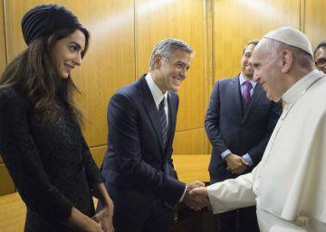 El Papa se reúne con Hollywood