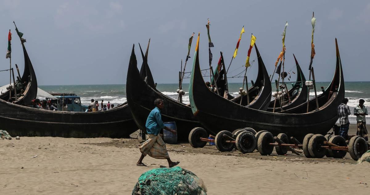 Entre 2014 y 2015 cerca de 100.000 rohinyás se aventuraron al mar.