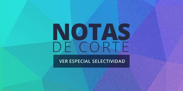 Especial interactivo | Las notas de corte de las universidades españolas