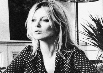 Kate Moss presenta su colección para Equipment