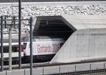 El túnel de San Gotardo, más que proeza
